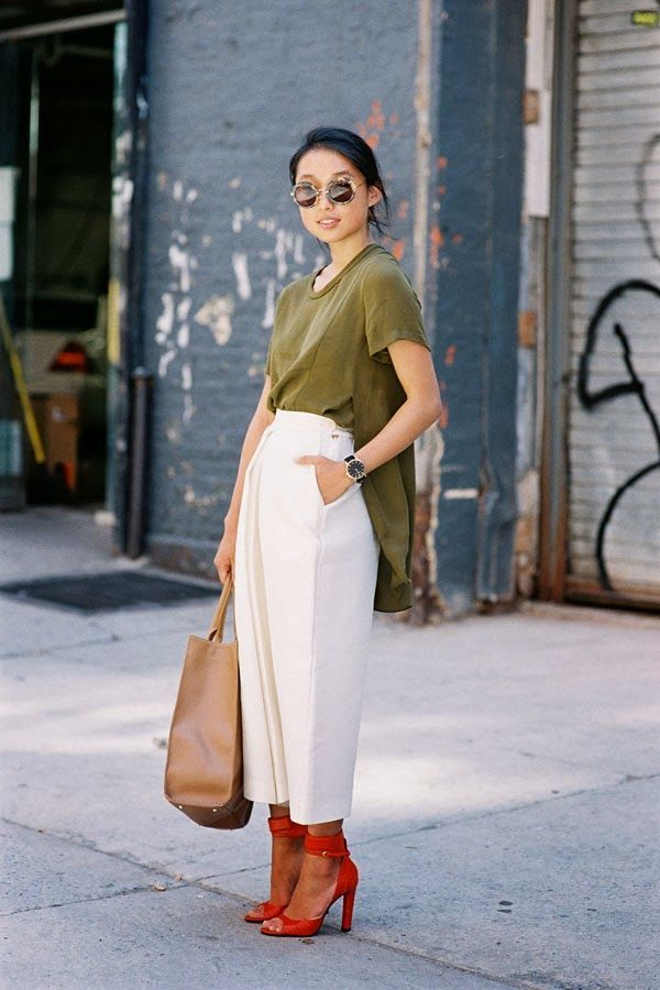 How To Make The 2016 Culotte Work For You Page 5 Of 5 Breakfast With Audrey Outfit Ideas