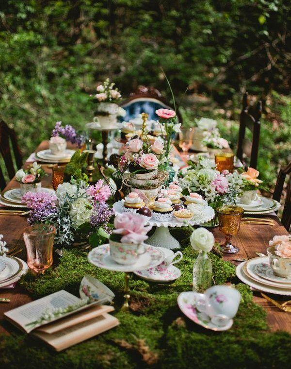 stylish garden party