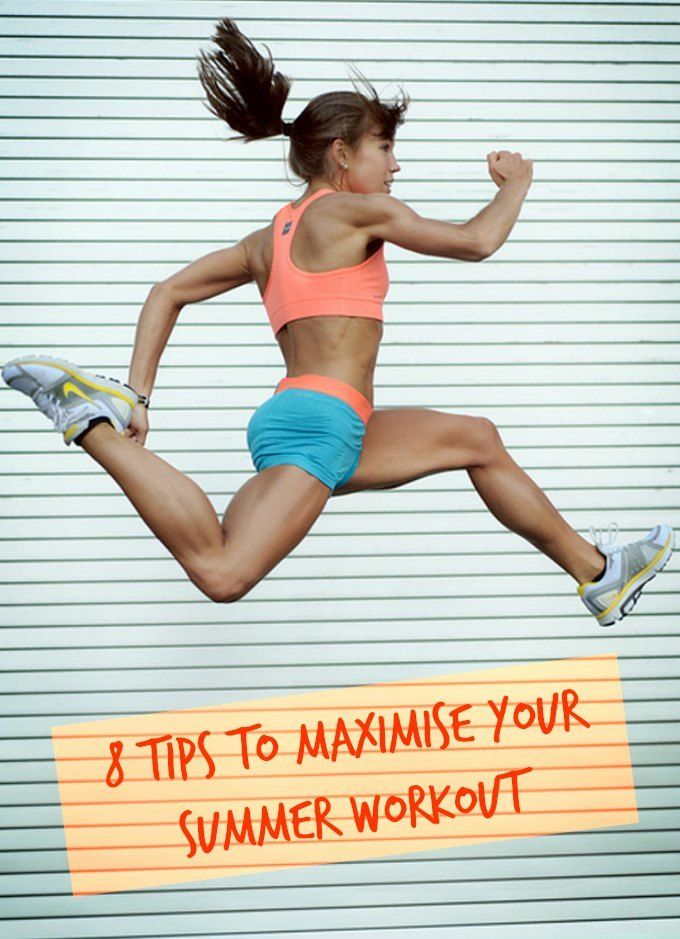 8 tips to maximise summer workout feature
