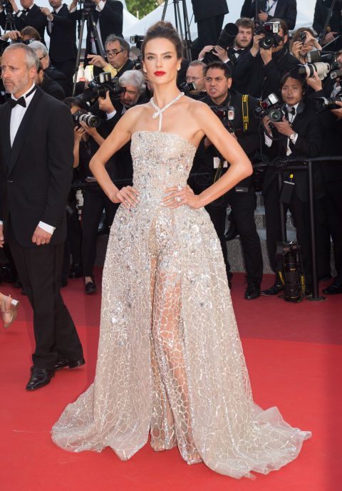 Alessandra Ambrosio at Cannes