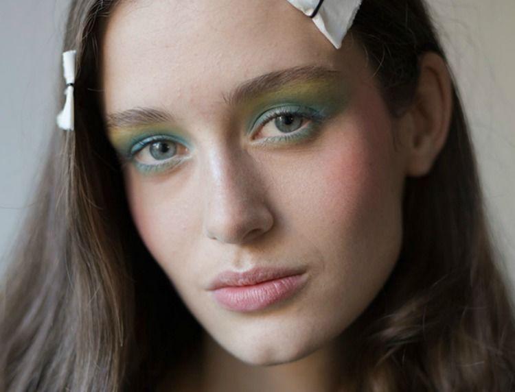 Alexis Mabille beauty look 2016