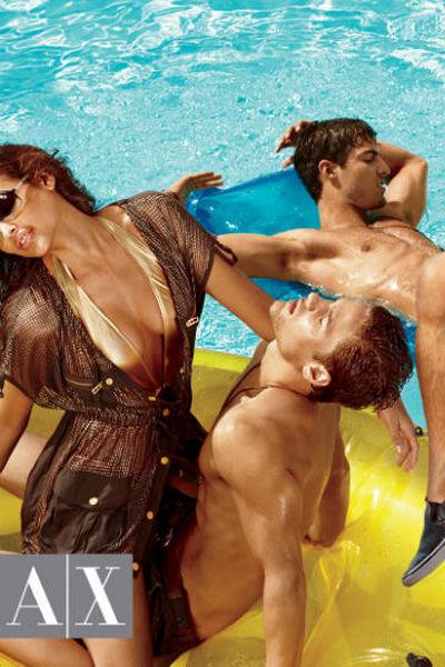Armani Exchange Summer 2011 Campaign