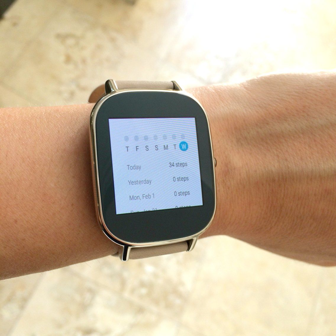 Asus ZenWatch 2 usability
