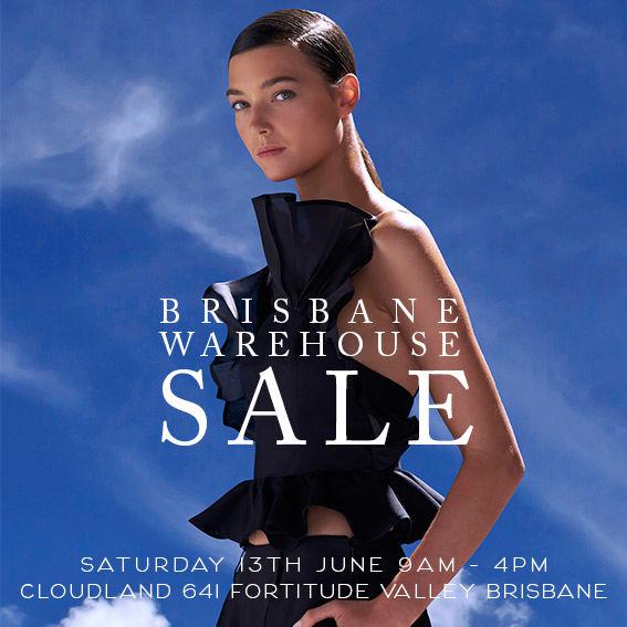 BRISBANE warehouse sale