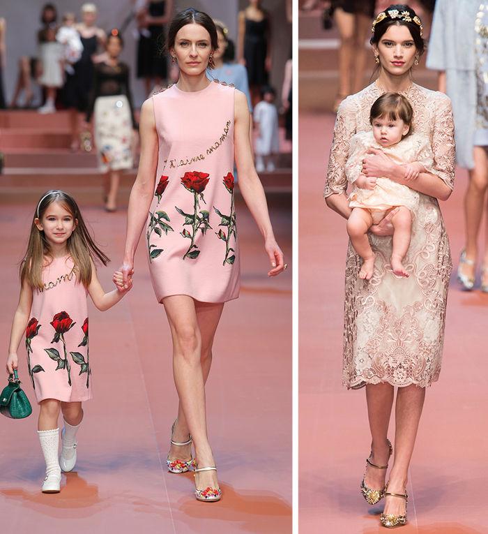The Dolce & Gabbana runway.