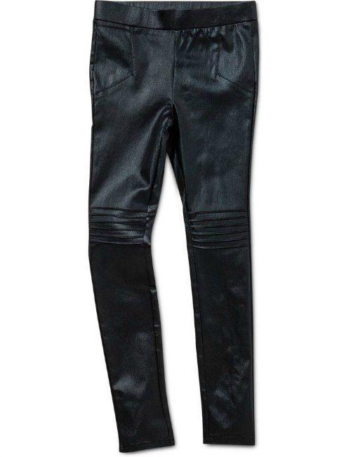 Bardot faux leather leggings fro David Jones $54.95