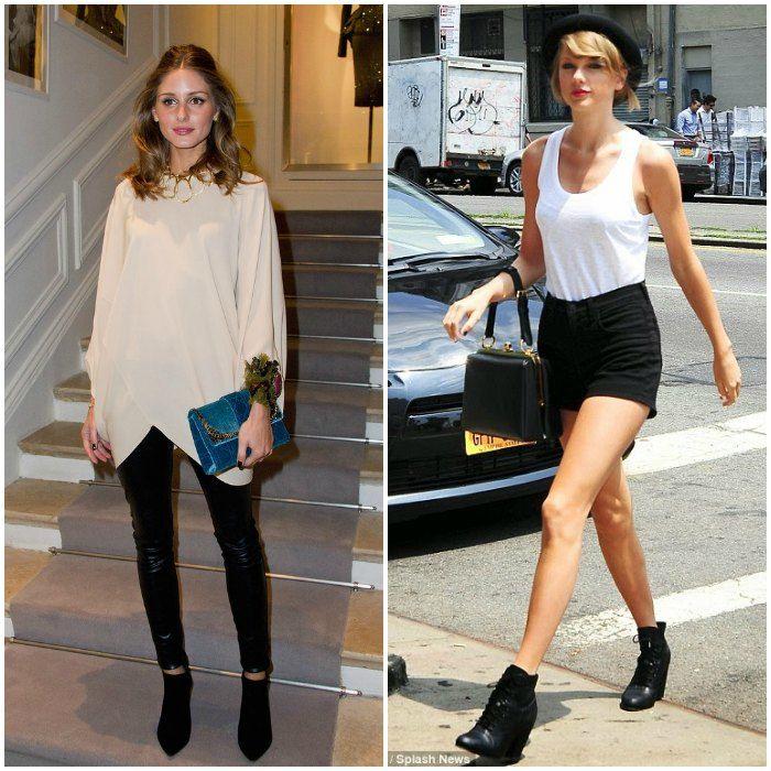 OliviaPalermo Image: stylebistro.com, and Taylor Swift. Image: Pinterest