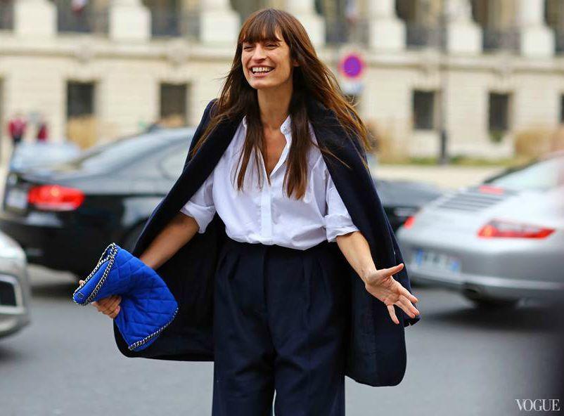 Caroline de Maigret street style inspiration