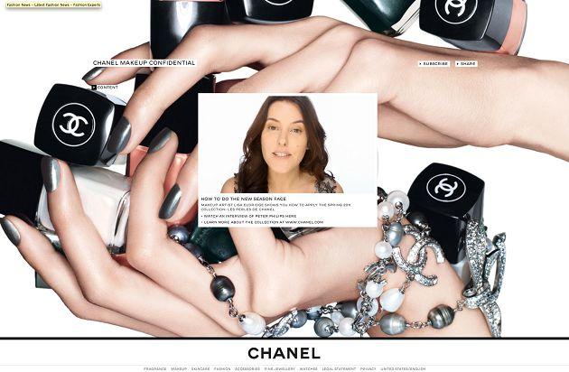 Chanel Beauty Site