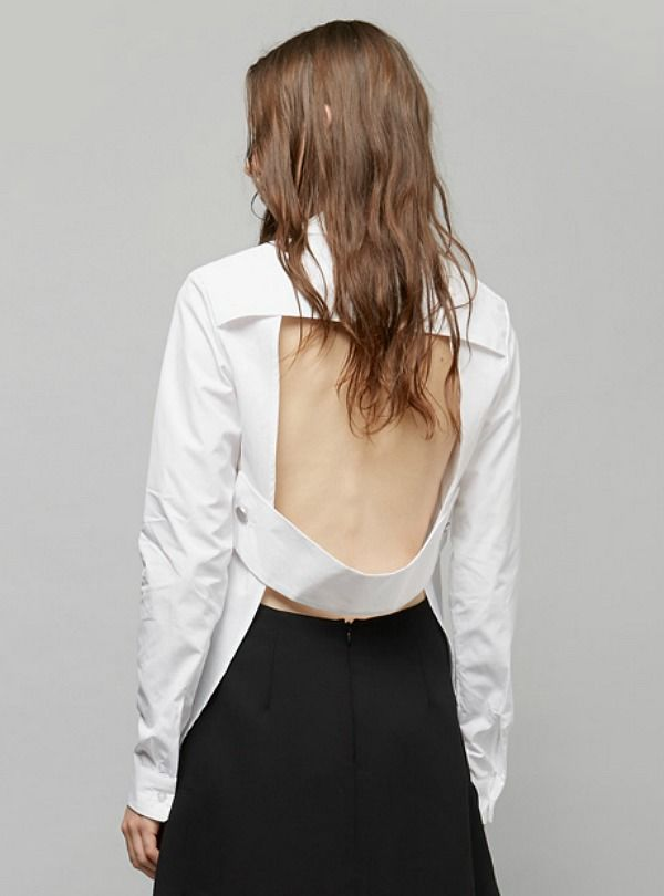 Chris Esber Open Back Shirt from My Chameleon  $273