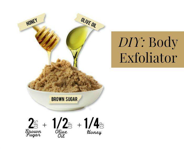 DIY Body Exfoliator