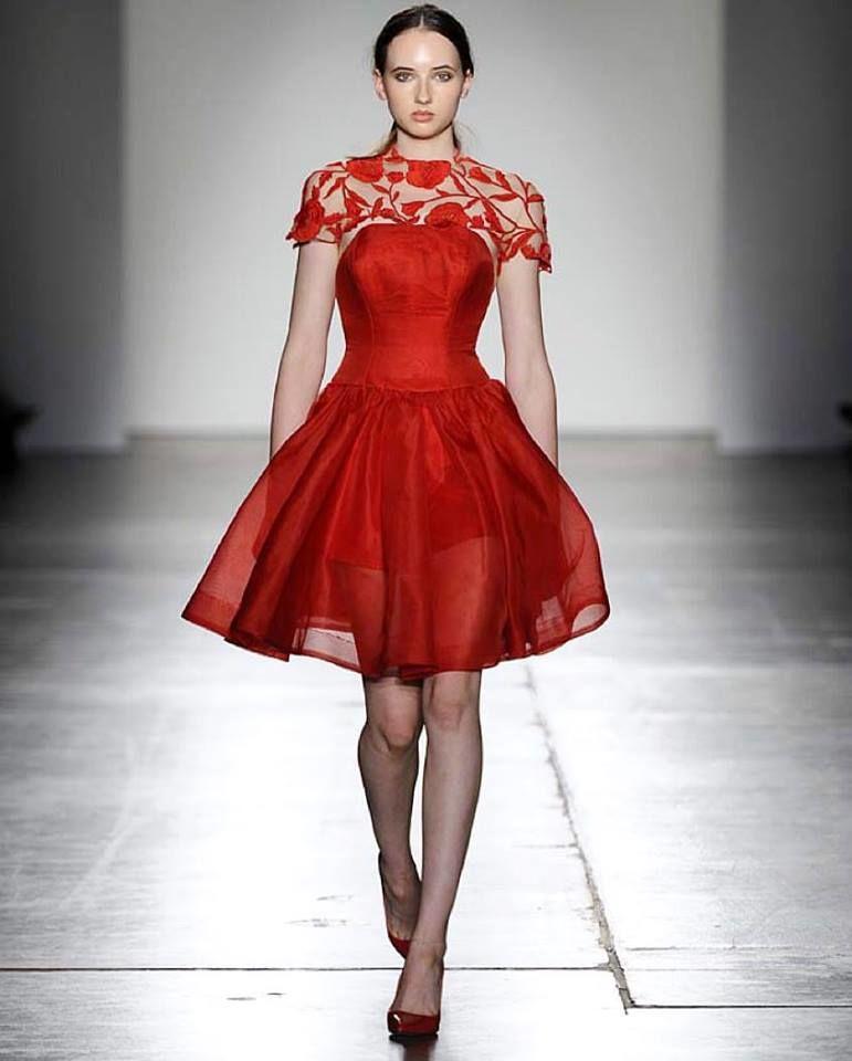 Dress by Deborah Selleck Couture. Image Fashion Palette
