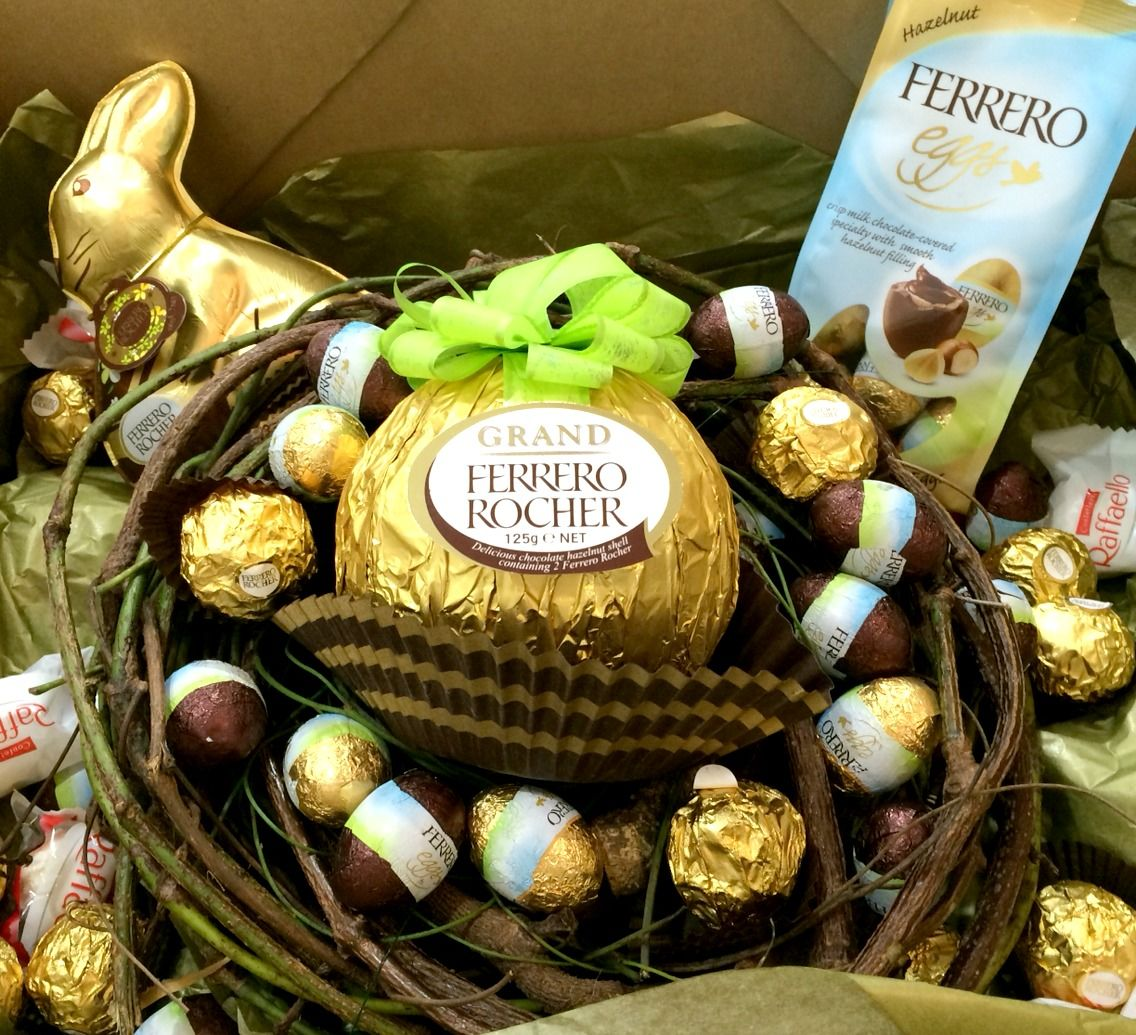 Ferrero Rocher Nest of Easter Treats