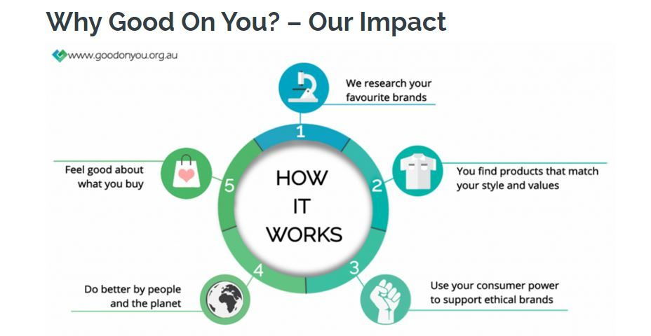 Good On You App Infographic