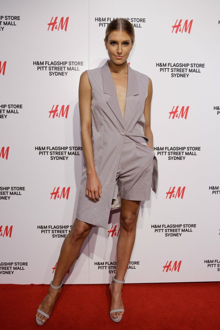 H&M Sydney Launch Erin Holland