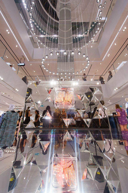 H&M Sydney Launch Inside Store