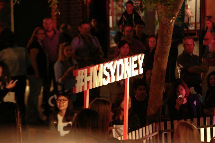 H&M Sydney Launch Pitt St Mall