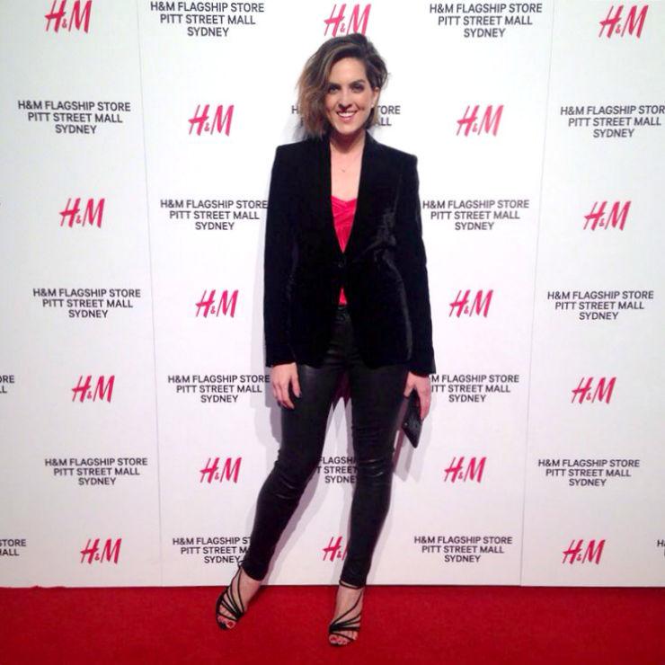 H&M Sydney Launch: Vanessa Roberts