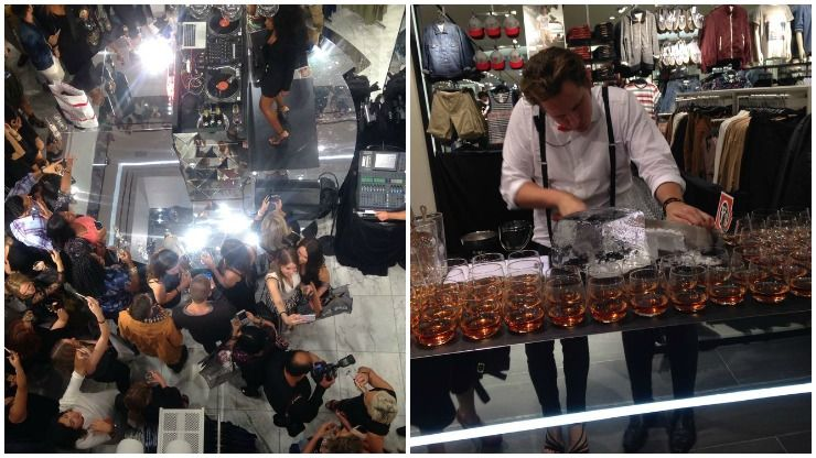 H&M Sydney Launch party