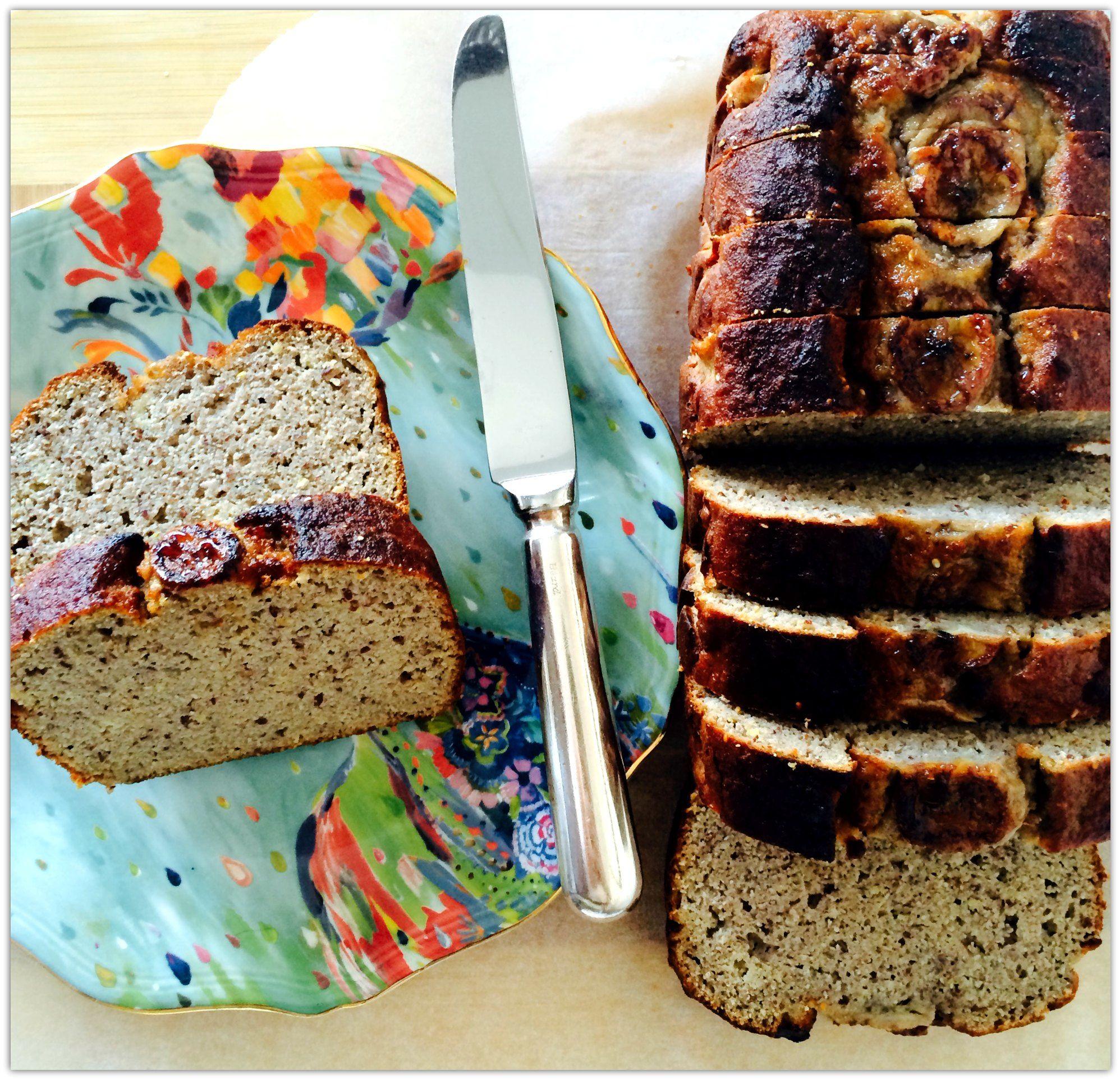 Healthy Banana Bread Recipe - breakfast with audrey
