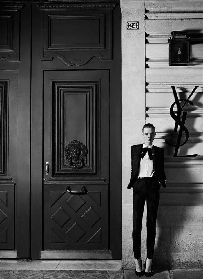Hedi Slimane returns to YSL Haute Couture
