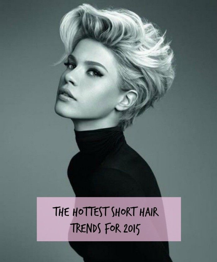 Hottest Short Hair Trends for 2015 Feature