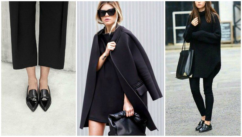 How to keep all black interesting - proportion