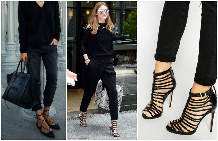 How to keep all black interesting - statement show