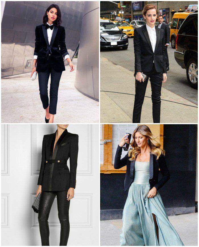 tuxedo jacket inspiration