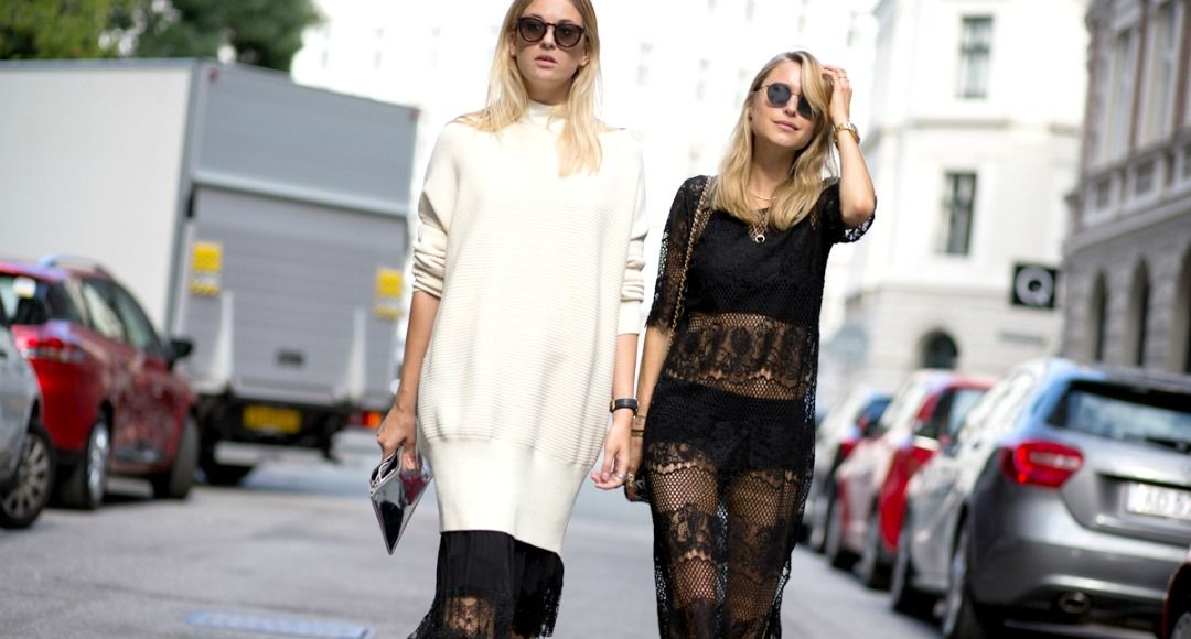 How to wear lace in winter feature