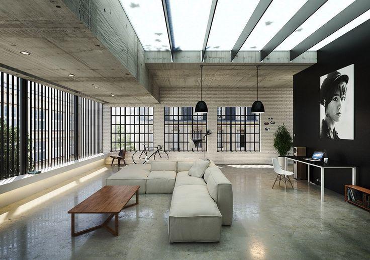 Interior Inspiration Concrete T
