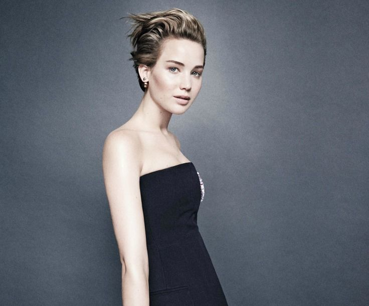 Jennifer Lawrence short hair inspiration