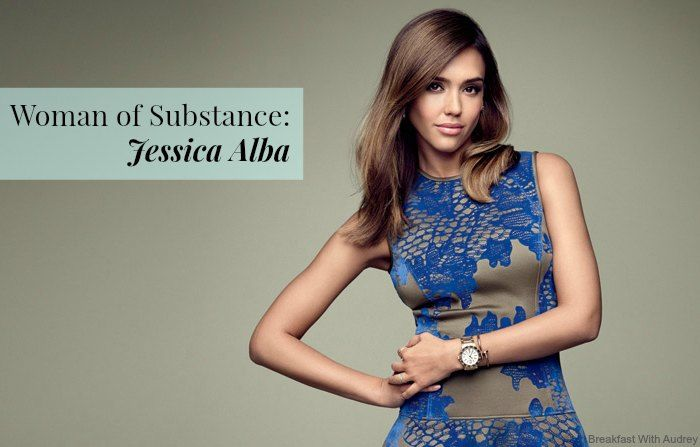 Jessica Alba Woman of Substance