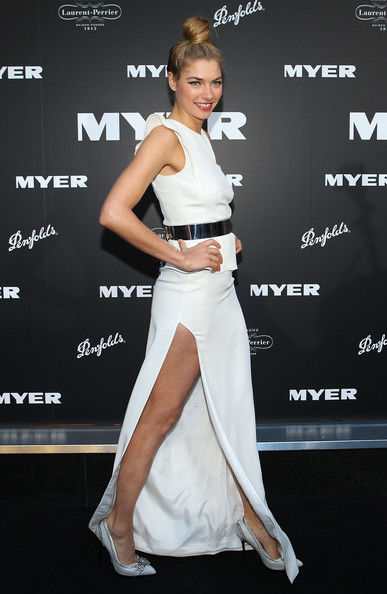 Jessica Hart at the Myer