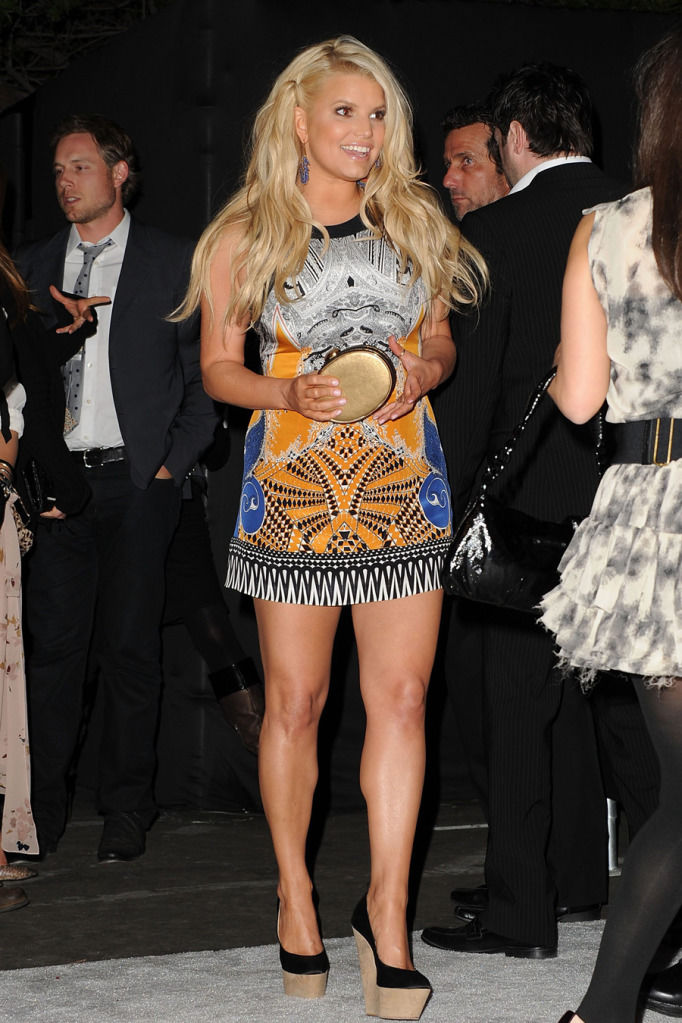 Jessica Simpson at the Us Weekly Hot Hollywood Party