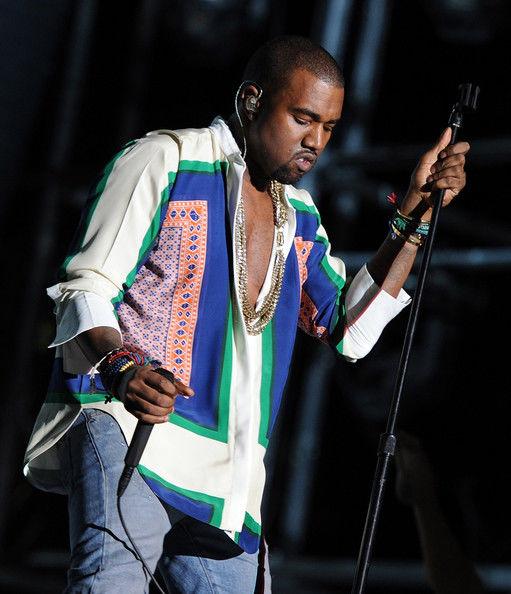Kanye West in Celine