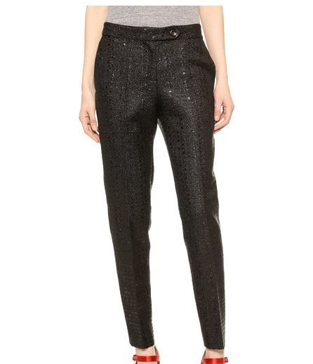 Karla Spetic Low Rise Pencil Trousers