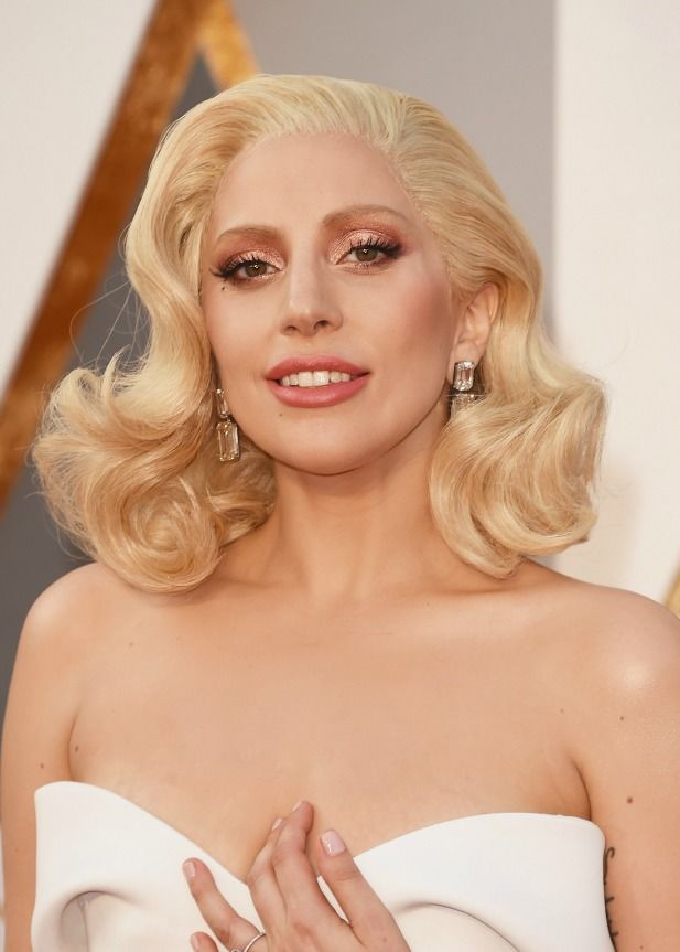 Lady Gaga Oscar beauty look
