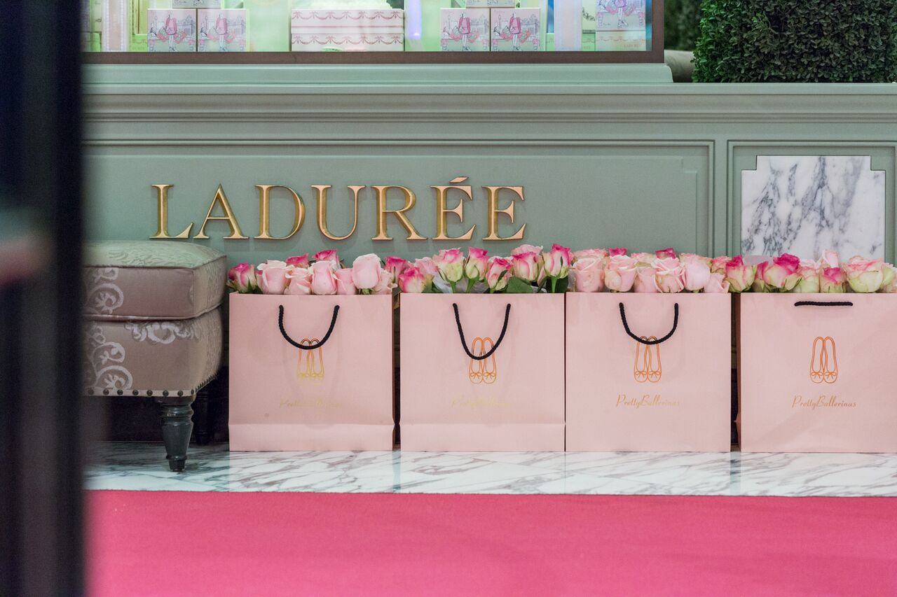 Laudree at the Pretty Ballerinas store opening