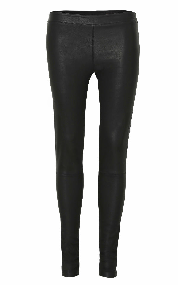 Leather Leggings by Doll Director Front View Web