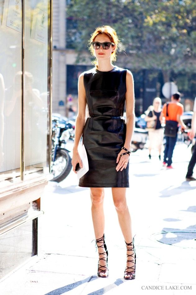 Trend How To The Leather Dress Breakfast With Audrey Outfit Ideas What To Wear Fashion