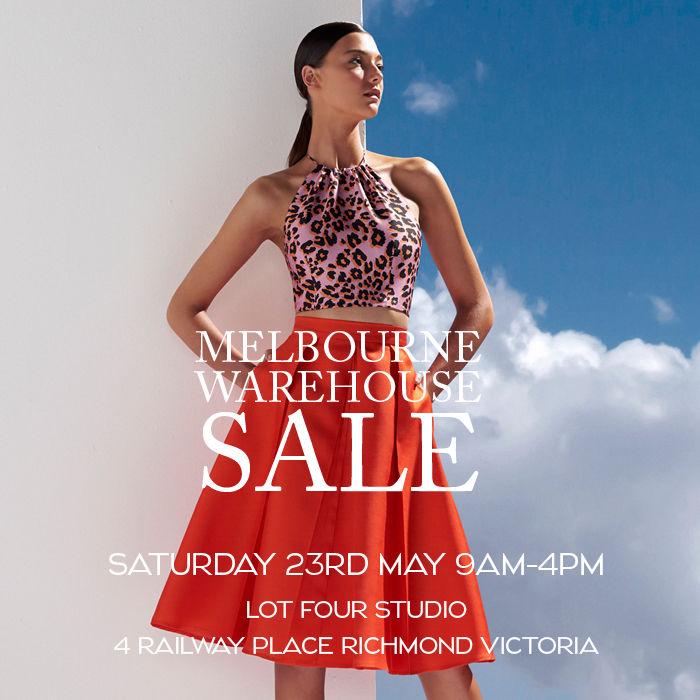 Melbourne warehouse sale