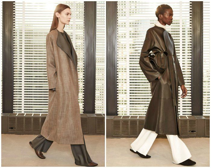 My favourite label for the androgynous look for NYFW15 was The Row. Images: style.com