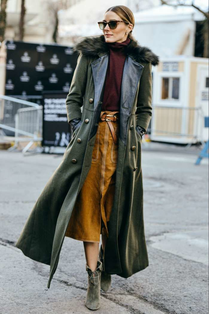 Olivia Palermo samples vintage for winter 2015. Image: tommyton.com