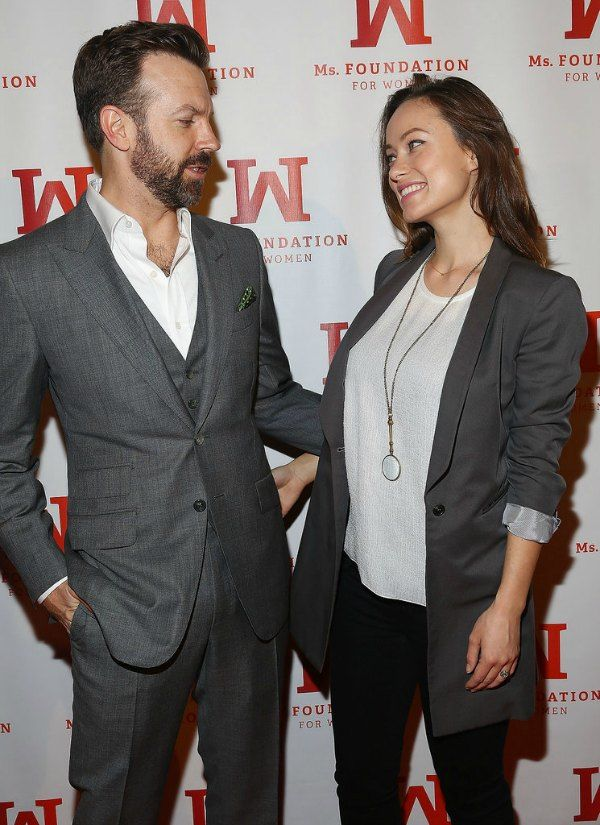 Olivia-Wilde-Jason-Sudeikis-First-Event-After-Baby