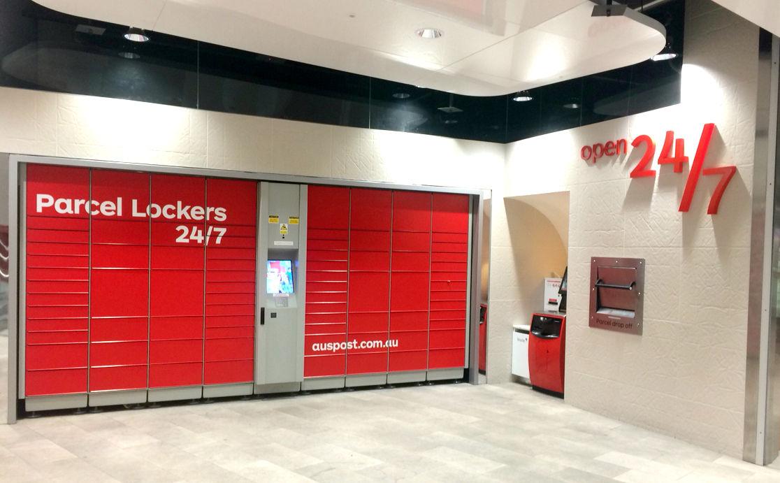 AUSTRALIA POST collect@Post Parcel Locker Location