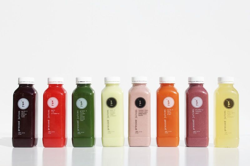 Pressed Juices - E3, ALS, G4, Z4, POT +, E4, BCP, Z2