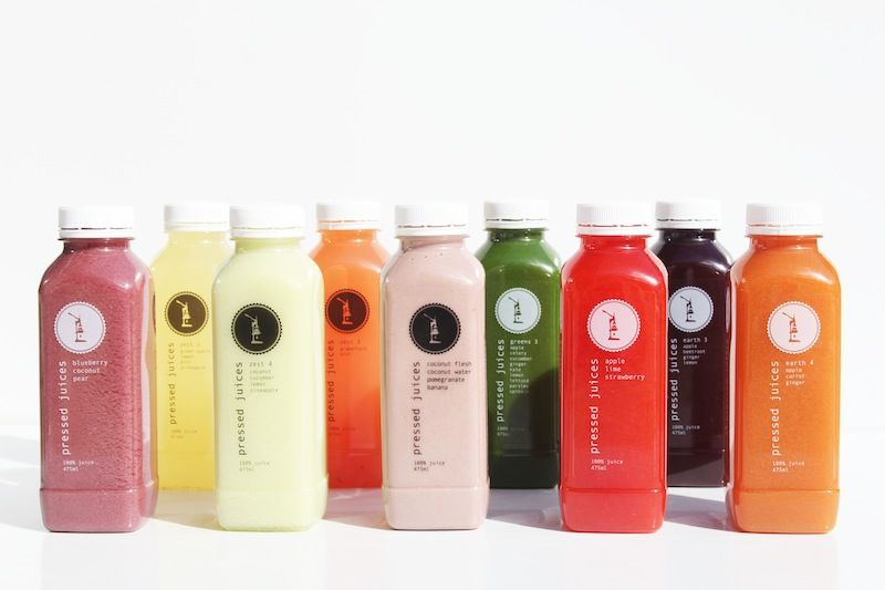 Pressed Juices - Mixed Range