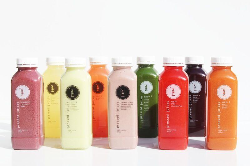 Pressed Juices - Mixed Range