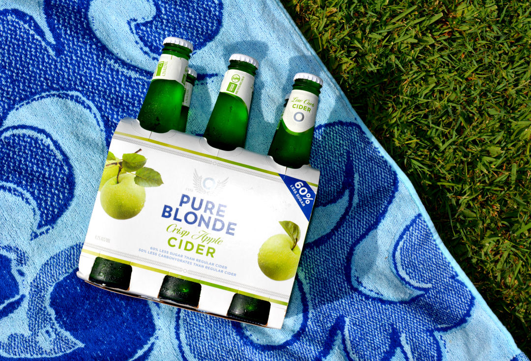pure blonde apple cider